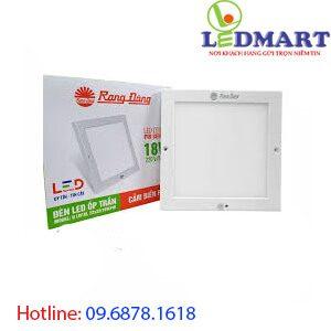 Đèn led ốp trần cảm biến 18w rạng đông D LN08L 23x2318W