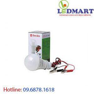 Đèn led búp 12V rạng đông LED A60N1 12-24VDC7W kẹp
