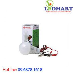 Đèn led búp 9W 12V rạng đông LED A60N1 12-24VDC9W kẹp
