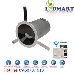 Đèn led downlight Bluetooth 12W Rạng đông AT18.BLE 8012W (FW)