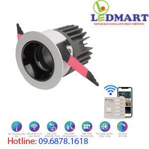 Đèn led downlight Bluetooth 12W Rạng đông AT19.BLE 8012W (A18)