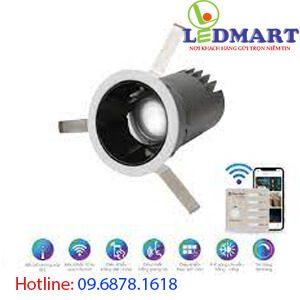 Đèn led downlight Bluetooth 7W Rạng đông AT18.BLE 607W (F24)