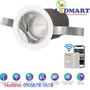 Đèn led downlight smart Bluetooth 7W Rạng đông AT18.BLE 607W (F18)