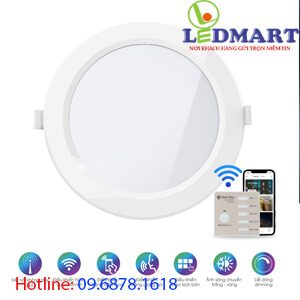 Đèn led panel Bluetooth 9W Rạng đông PT04.BLE 1109W